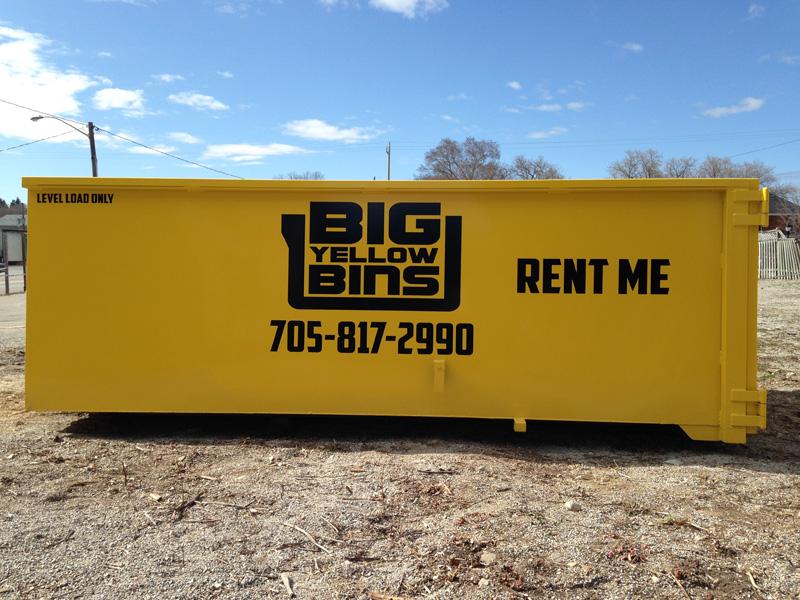 Rent a Big Yellow Bin